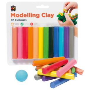 EC Rainbow Modelling Clay – Pack of 12