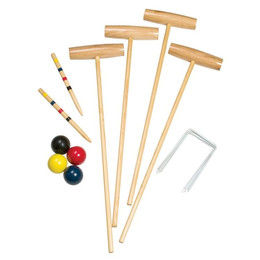 CROQUET SET 4 PLAYER