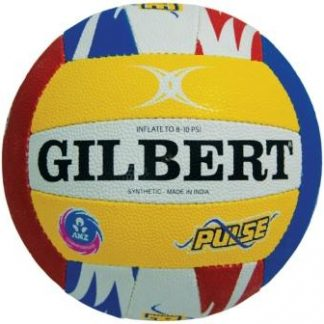 GILBERT ANZ CHAMPIONSHIP SUPPORTERS NETBALL SIZE 5 CENTRAL PULSE