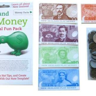 NZ PLAY MONEY EDUCATION PACK