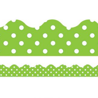 LIME POLKA DOTS TRIMMER