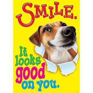 SMILE IT LOOKS GOOD ON YOU POSTER