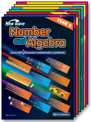 NEW WAVE NUMBER & ALGEBRA WORKBOOKS