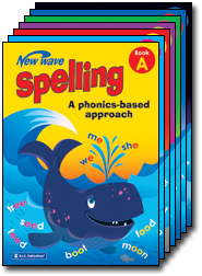 NEW WAVE SPELLING WORKBOOKS