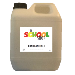 The School Shop NZ Made Hand Sanitiser 5 Litre Refill