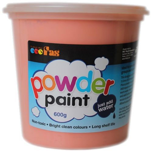 fas super tempera powder paint 600g edsports the