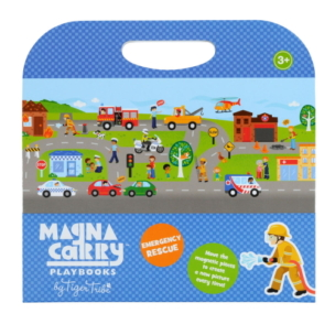 Tiger Tribe Magnetic Carry Playbook –  Ages 3+ (4 Designs)