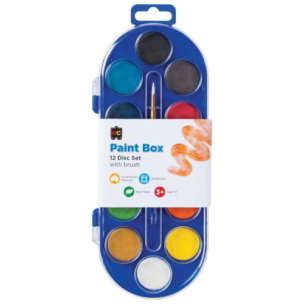 EC Paint Pallette Set of 12 Colours
